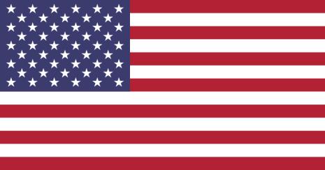 USA 24cm Bordsflagga