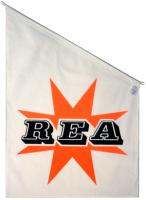 Rea fasadflagga 70x50 tyg