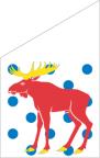 Gästrikland Fasadflagga 80cm