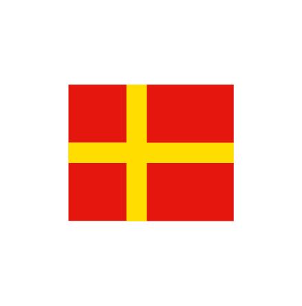 Skåne korsflagga 75cm