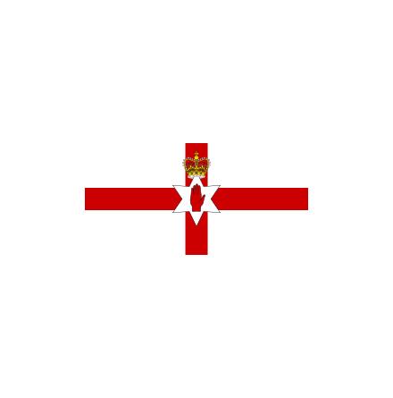 Nordirland 16 cm Bordsflagga
