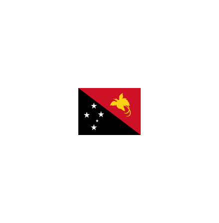 Papua Nya Guinea 16cm Bordsfl