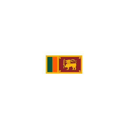 Sri Lanka 16 cm Bordsflagga