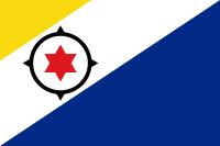 Bonaire 16 cm Bordsflagga